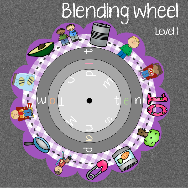 Level 1 - Blending wheel